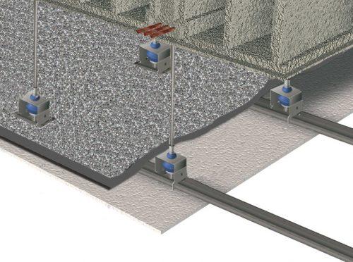 Ejemplo de colocación de ChovAPREN en techos